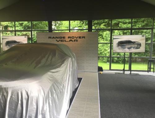 Lancement du Range Rover Velar