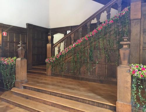(Français) décoration de la rampe d'escalier